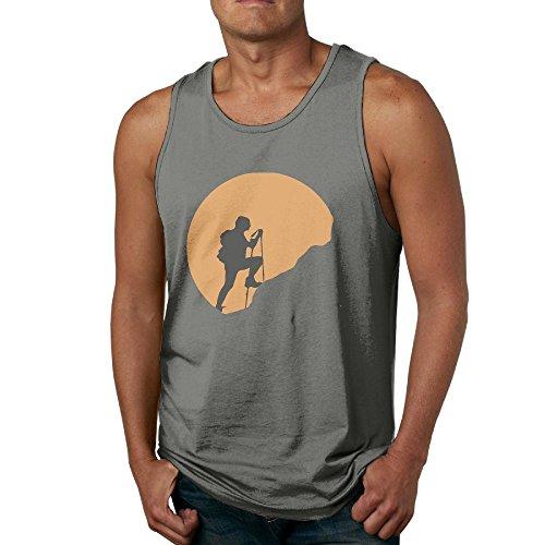 Men Sleeveless T-Shirts Hiking Exploring Nature Soft T-Shirt Tank Tops Undershirts