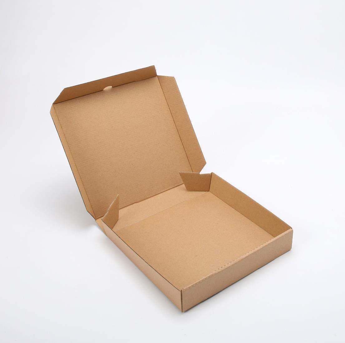 "6\"" Premium Kraft Mini Pizza Kasten (10 Pieces) (6\"" Length X 6\"" Width X 1.7\"" Depth)"