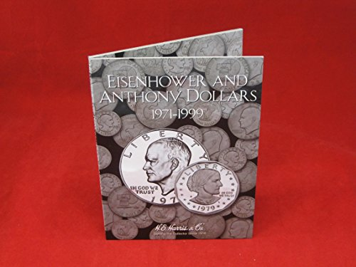 Harris Eisenhower & Anthony Dollars 1971-1999 Coin Folder 2699