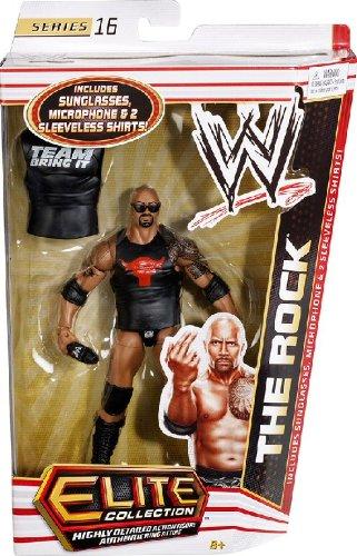 WWE Collector Elite The Rock Figure - Series
