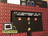 Legend Of Zelda Diorama (Framed Artwork) NES