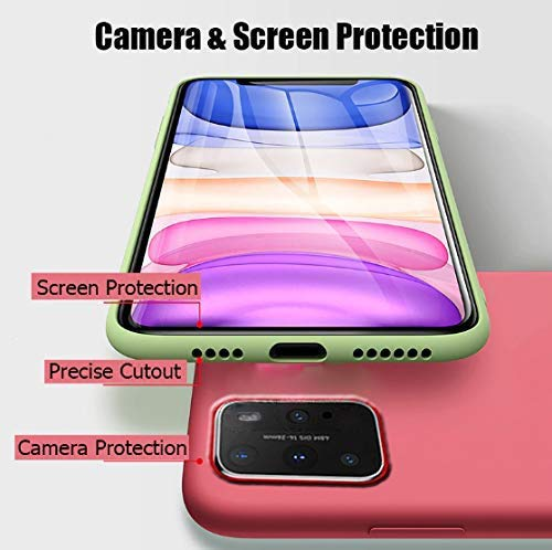 Mobistyle Slim Matte Liquid Silicone Rubber Gel TPU Shockproof Slim Back Cover Case for oneplus 9 (Red) 2021 July Compatibile Device For -oneplus 9 Colour Red Ultra Slim Case-The Sleek Design let you have more comfortable hand feeling and really Lightweight, without making your device bulky.