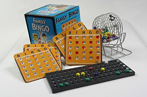 Regal Games Family Bingo Set with Shutter Slide - Selector Warehouse Tips