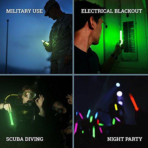 30 Industrial Grade Glow Sticks, 6