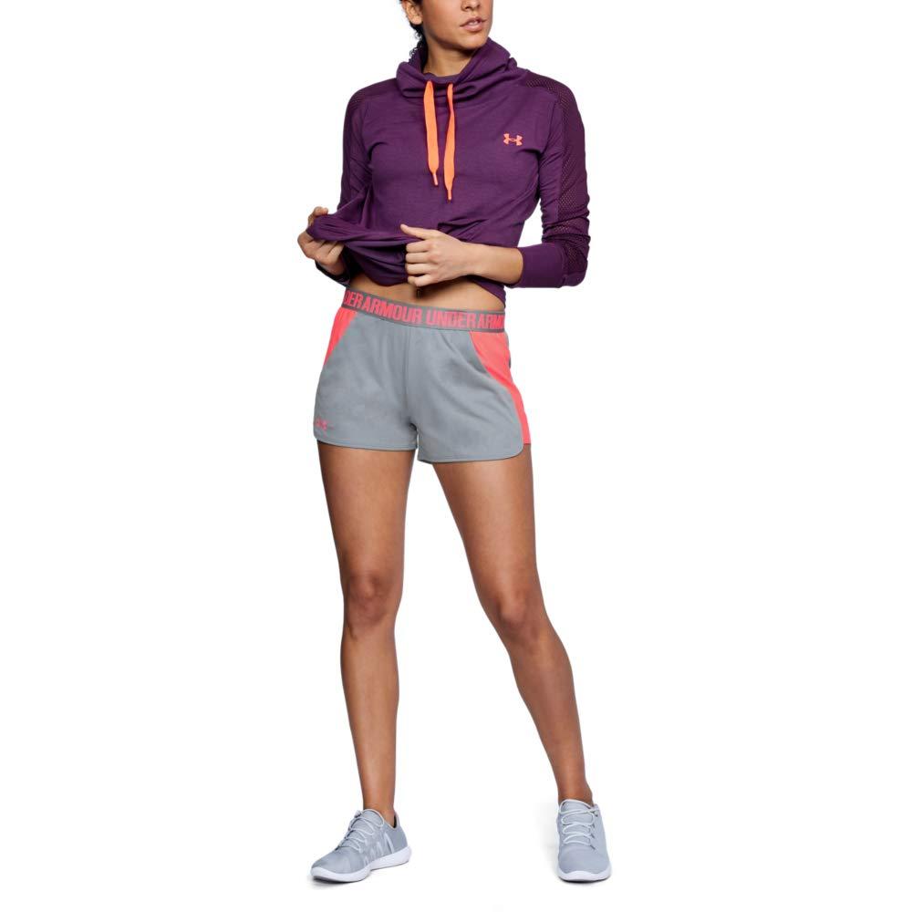 TALLA Talla Única (talla del fabricañote: Small). Under Armour Pantalones Cortos Deportivos para Mujer