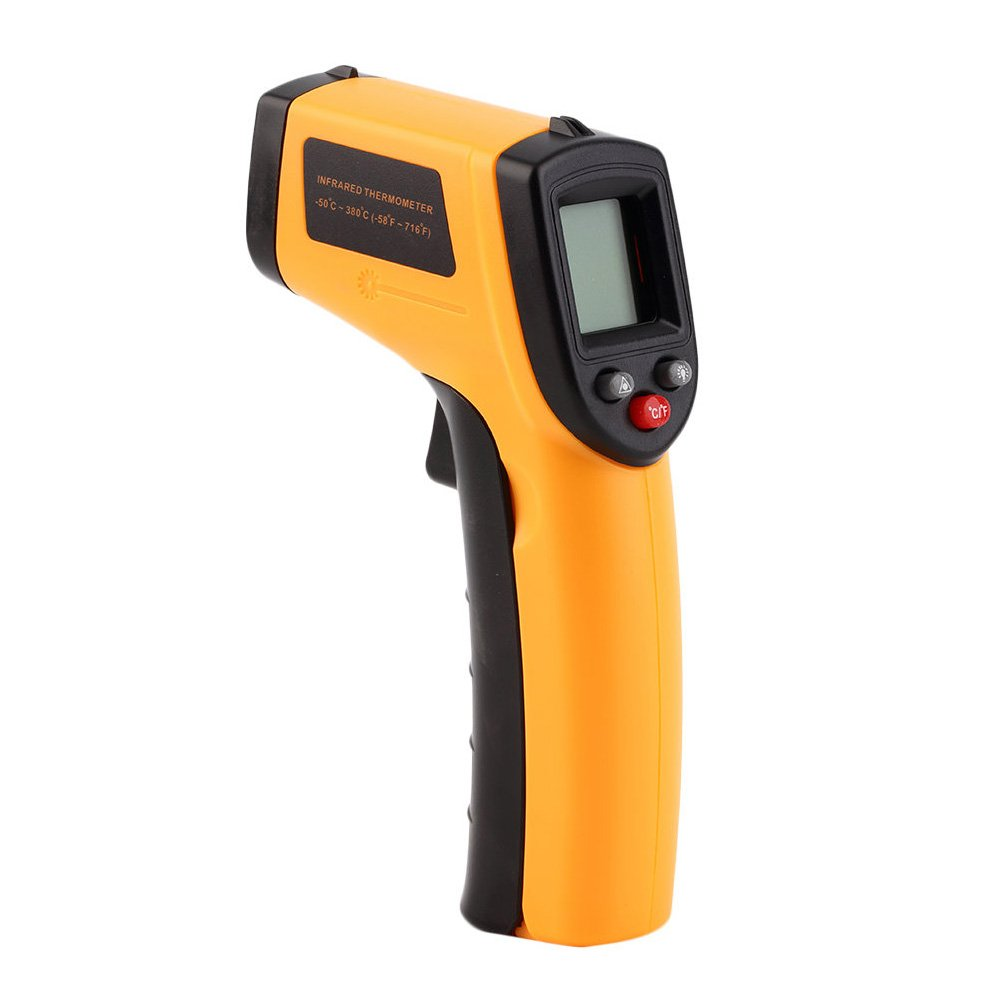 ELEOPTION Infrared Thermometer Gun, Non-contact Digital Laser Infrared Thermometer Temperature Gun -58℉~ 626℉ (-50℃ ~ 330℃)