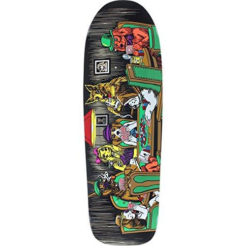Almost Skateboards Rodney Mullen Dog Poker Old School Skateboard Deck Resin-7-9.62