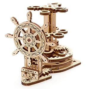 Ugears Wheel Organizer Puzzle 3d Per Adulti Portapenne In Legno Ecologico Modello Meccanico Puzzle Di Legno Rompicapo In Legno Per Adulti Giocattolo Educativi Per Bambini