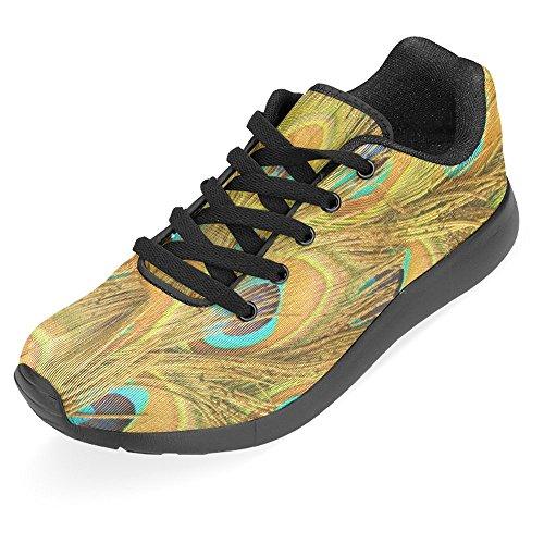 Interestprint Mujeres Jogging Running Sneaker Ligero Go Easy Walking Casual Confort Deportes Zapatillas De Running Multi 22