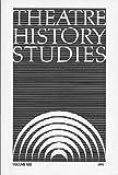 Theatre History Studies 1993 9780817353896