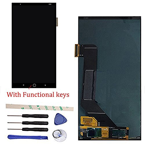 LCD Display Touch Screen Digitizer Assembly Replacement For ZTE Axon 7 A2017 Amoled A2017U A2017G (black)