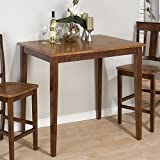 Jofran Counter Height Rectangle Table with Fixed Top