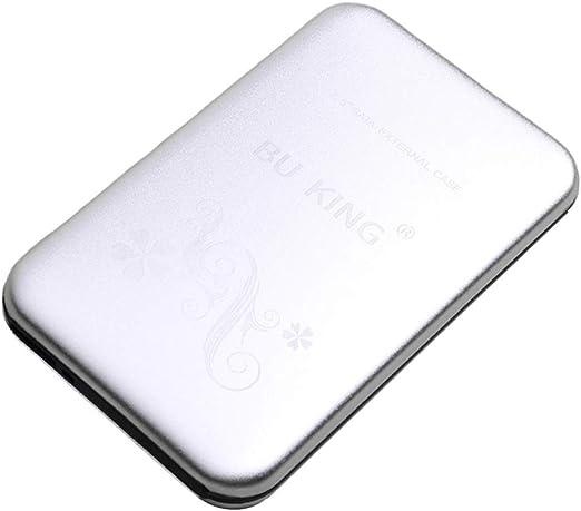 kokiya ポータブル2.5インチ外付けハードディスクドライブアルミニウム250G USB 3.0 HDDシルバー
