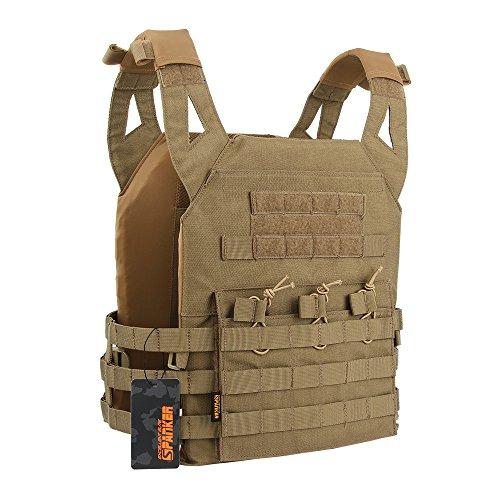 1725eee364ec0 EXCELLENT ELITE SPANKER Tactical Airsoft Outdoor Molle Breathable JPG Vest  Game Protective Vest Modular Chest Set Vest for Fun(COB)