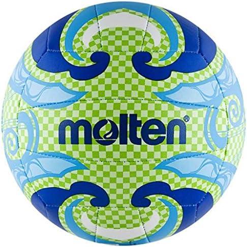 MOLTEN - Balón de Volley Playa Multicolor Orange/Gelb/Pink Talla:5 ...