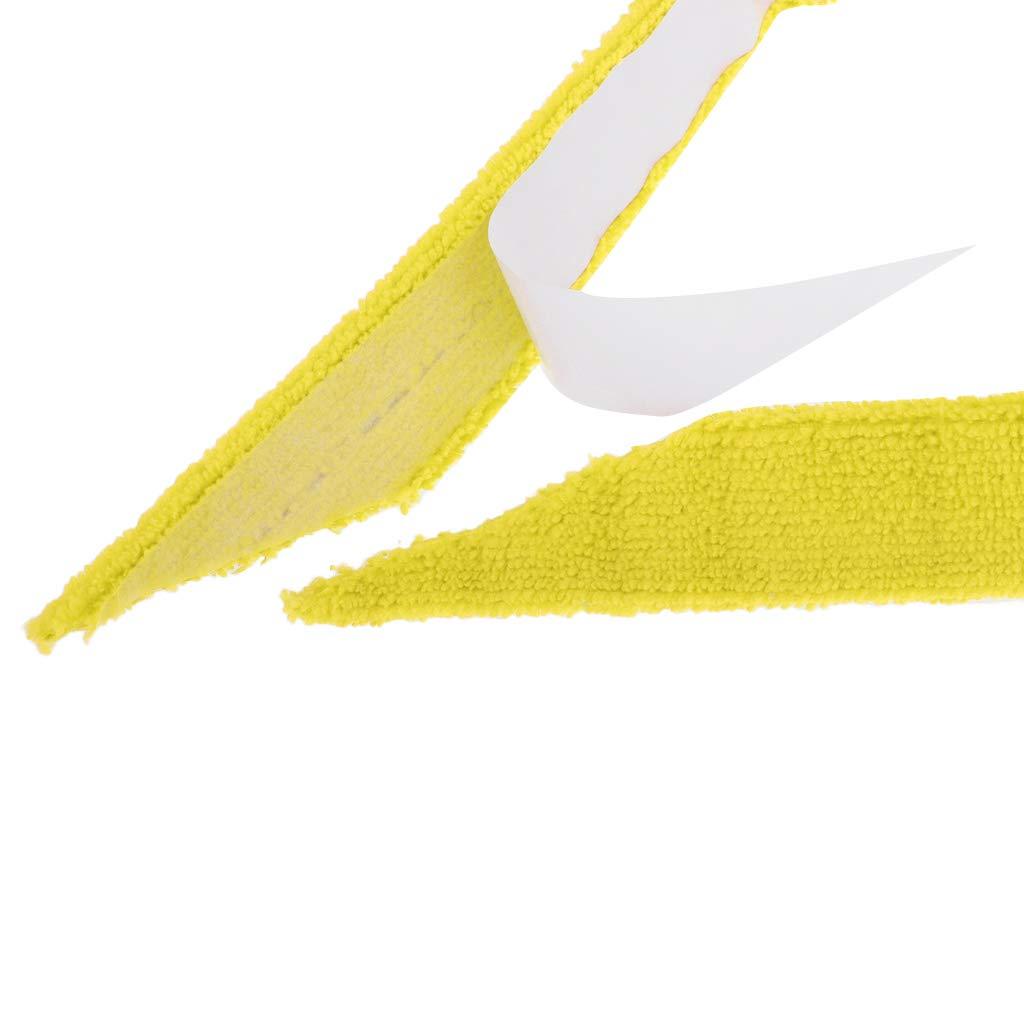 SaniMomo 27.5 Towel Replacement Grip Wrap Overgrips Sweatband for Squash Tennis//Badminton Rackets Select Colors