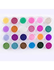 Elite99 24 Color Mini 3D Caviar Beads Bean Nail Art Tips Fashion DIY Manicure Decoration