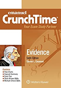 Emanuel CrunchTime for Evidence (Emanuel CrunchTime Series)