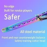 butterfly knife trainer , practice stainless steel