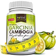 Pure Garcinia Cambogia Extract - 95% HCA Capsules - Best Weight Loss Supplement - Non GMO - Gluten & Gelatin Free - Natural Appetite Suppressant - 100% Money Back Guarantee - Order Risk Free! 60 Caps® (1 Month Supply)