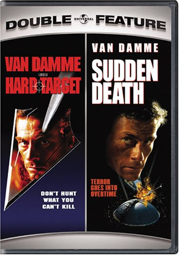 DVD : Hard Target & Sudden Death (Full Frame, Snap Case, Widescreen)
