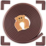 Baby Proofing Edge & Corner Guards: 6 Piece Furniture Safety Set, Coffee Brown