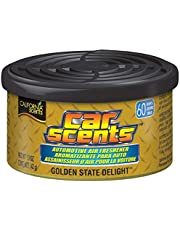 California Scents Car Scents Can Air Freshener Eco-friendly Odor Neutralizer for Car, Truck or Van, Golden State Delight, 1.5 oz., 12 Pack