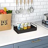 KINGBERWI Bathroom Vanity Tray, Kitchen