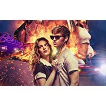 Gabriela 22inch x 14inch Baby Driver Ansel Elgort Kevin Spacey Lily James Eiza González Waterproof Poster (Bathroom, Outdoors wherever you like) By