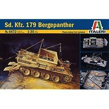 SdKfz 179 Bergepanther Recovery Vehicle 1/35 Italeri (japan import)