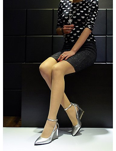 XZZ  Damen-Stiefel-Hochzeit     Kleid   Lässig-Leder-Keilabsatz-Wedges-Rot   Silber   Gold   Hellgrün B01KPZXYNO Sport- & Outdoorschuhe Angemessener Preis 9a9237