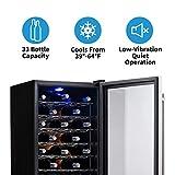 NewAir Wine Cooler and Refrigerator, 33 Bottle