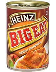 Heinz Big Eat Beef Ravioli Bolognese Canned Meal, 410g
