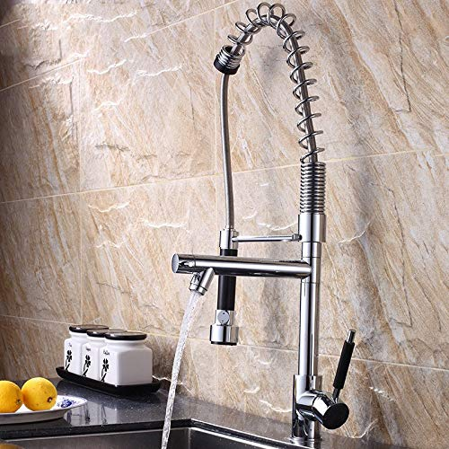 Decorry Mixer Pull Spring Entire Copper Faucet Sink Kitchen Hoses