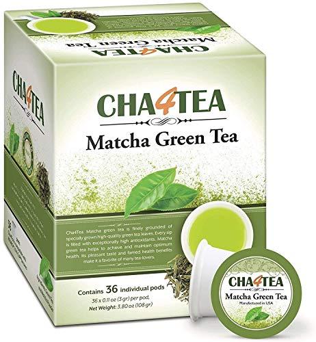 Cha4TEA 36-Count Matcha Green