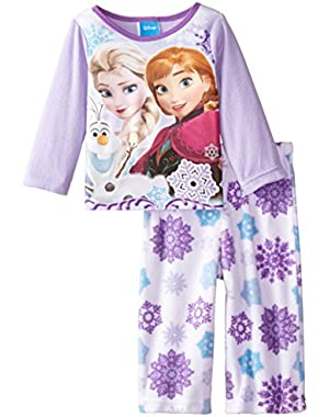 Baby Girls' Frozen There's No Crowd 2 Piece Pajama Set