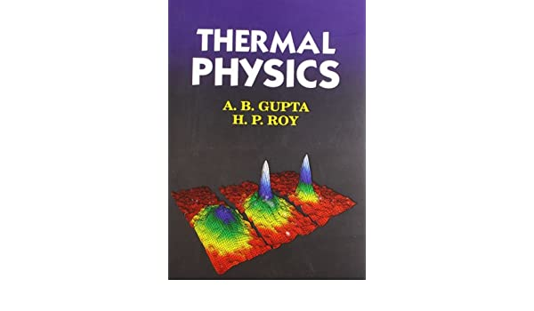 Thermal Physics Pdf