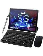 5G Tablet 10 inch Android 10.0 met 5G Dual WiFi, Octa-Core 1.6GHz Tablet PC 4GB RAM 64GB / 128GB ROM uitbreidbaar, Bluetooth, Dual Cámara, accu 6000mAh, Type-C met toetsenbord en muis
