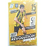 2017 PANINI REVOLUTION SOCCER 15 BASE CARD HANGER BOX LOOK TEEN SENSATION CHRISTIAN PULISIC ROOKIE CARD & FOR EXCLUSIVE INSERTS! SUPERSTARS MESSI, NEYMAR, RONALDO & MORE! SHIPS FROM USA