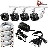 Q-See 720p HD Weatherproof Bullet Camera 4-Pack