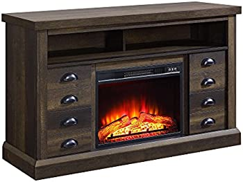 Better Homes & Gardens Granary Farmhouse Fireplace Console