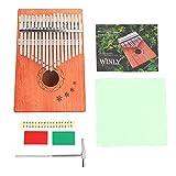 Thumb Piano, RiToEasysports K17NOTE C Major 17-Key Kalimba Camphorwood Classic Style Thumb Piano Kalimbas Accessories