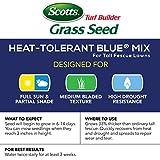 Scotts Turf Builder Grass Seed Heat-Tolerant Blue