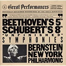 """Beethoven: Symphony No. 5 in C Minor (Op. 67) / Schubert: Symphony No. 8  in B Minor """"Unfinished"""" Great Performances series)"""