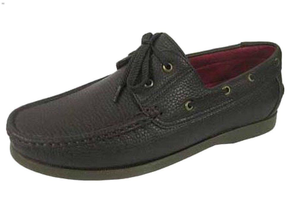 Shoreside Para hombre zapatos de cordones Cubierta/barco 41 EU Marrón