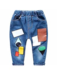 ARAUS Jeans Baby Boys Denim Pants Spring Autumn Trousers for 1-10T