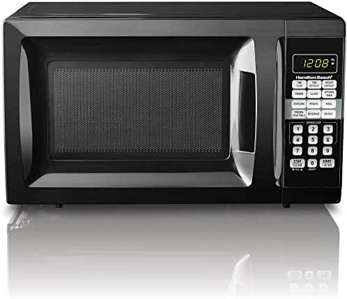Hamilton Beach 0.7 cu ft Microwave Oven (Black)