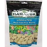 Unsalted Macadamia Nuts 10 Oz Bag - Made in Hawaii