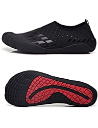 Water Shoes for Men Quick-Dry Aqua Sock Outdoor Athletic Sport Shoes for Kayaking, Hiking, Surfing