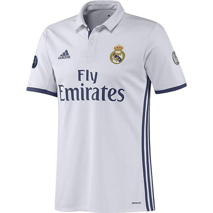 adidas H JSY UCL Camiseta 1ª Equipación del Real Madrid CF 2015/16 ...